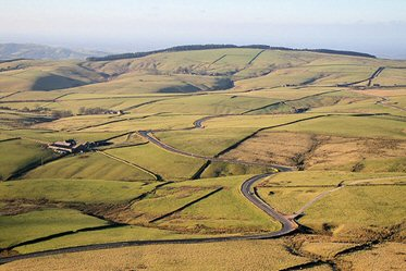 The Cat & Fiddle - Buxton to Macclesfield, Peak District.