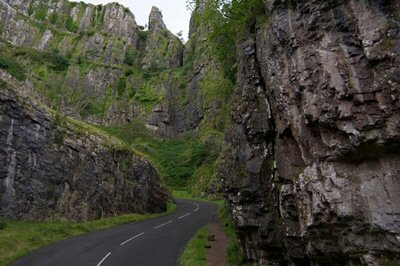 The Cheddar Gorge - West Country.